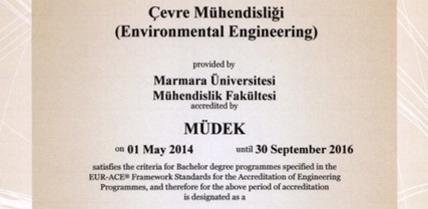 MUDEK Akeditasyonu 2014- 2016
